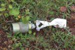 04 KB-1 bomblet from a former Yugoslav Forces  cluster strike into Albania