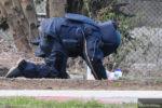PHOTO TOMASZ SOCZEWKA LOVEKRAKOW.PL BOMBA PRZY ALEJI POKOJU SAPER POLICJA N/Z  2015.04.05
