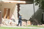 02.06.2016., Vinkovci - Bivsi branitelj poginuo je u kuci gdje je pustio plin i aktivirao tri rucne bombe. Policijski ocevid je u tijeku.  Photo: Marko Mrkonjic/PIXSELL ------ crna 4 st color