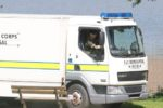 rcnks020610c ks Tilgate Park, Titmus Drive Crawley. two unexploded hand grenades found by workmen after lake is dredged, bomb disposal army called from Aldershot.