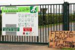 Panique samedi à la déchèterie qui a du être fermée suite au dépôt d'une matière explosive.
