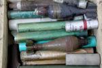 Des explosifs dans un dépôt d'armes à Kinshasa. Radio Okapi/ Ph. John Bompengo