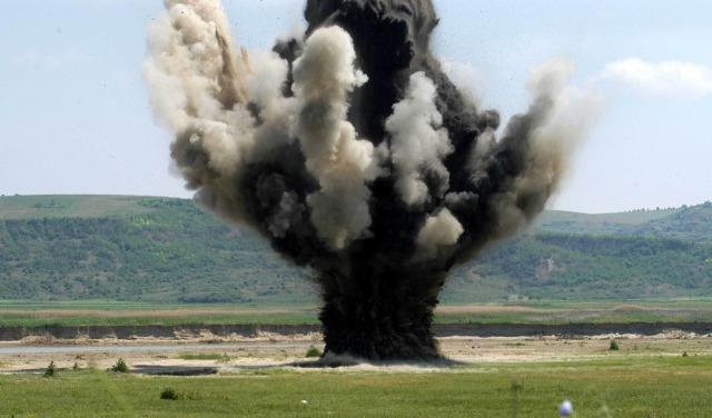 munitie distrusa