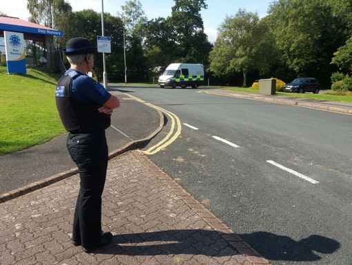 Police-at-the-scene-in-Derriford