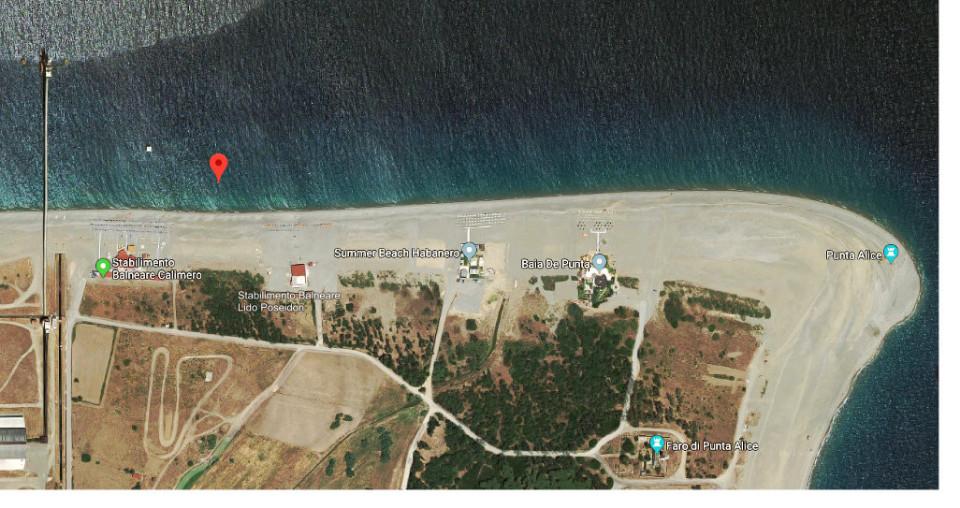 Cirò-Marina-Ordigni-bellici-a-Punta-Alice-scatta-il-divieto-di-navigazione-balneazione-e-pesca