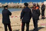 Cinisi - artificieri in spiaggia Magaggiari (2)-2
