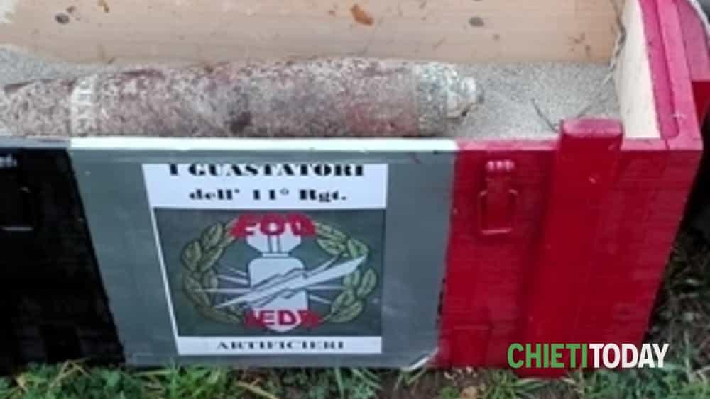 lâ__esercito disinnesca due ordigni della 2^ guerra mondiale a fossacesia (ch) -2