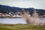 Courier News - Fife - Craig Smith - Controlled explosion Leven Beach story - Leven - Picture Shows: With a bang, the controlled explosion takes place - Wednesday 4th September 2019 - Steve Brown / DCT Media