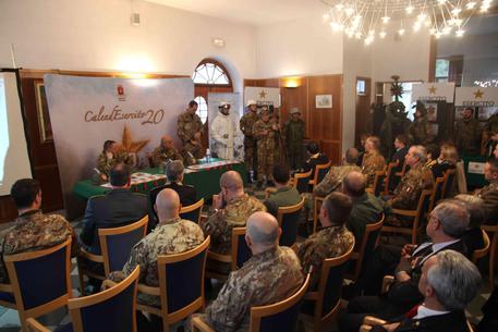 Conferenza stampa di fine anno truppe alpine a Bolzano