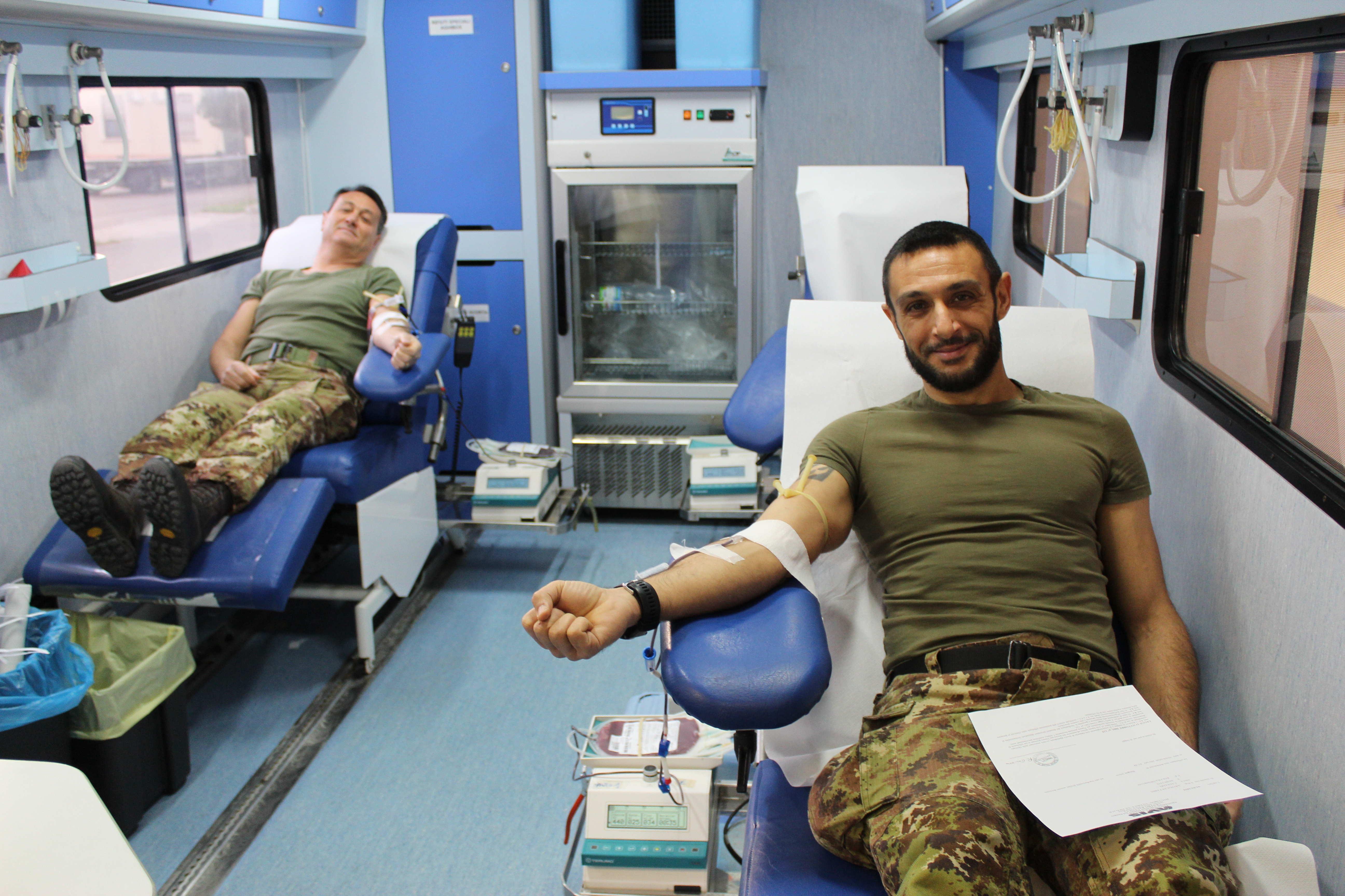 Donazione sangue Btg. Gennargentu