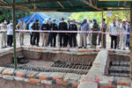 Authorities found 15 tonnes of sunken bombs and ammunition and skeletons of 16 Cambodian soldiers in a sunken ship in the Mekong River in Kampong Cham province. Ministry of Interior
